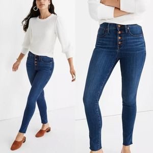 Madewell | 10 Inch High Rise Jean Button Edition